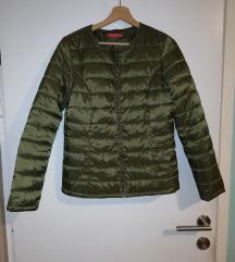 Zelena presita jakna