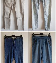 Ženske kavbojke/hlače št. 38 (M)