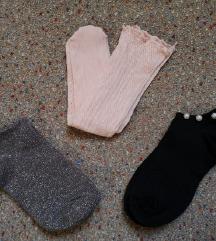Nove nogavičke 3 skupaj