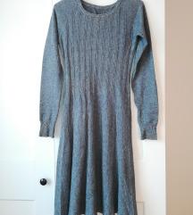 zimska siva obleka na A