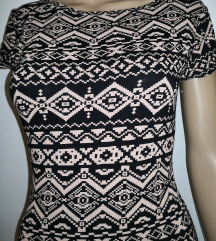 Nova aztec obleka čez kolena