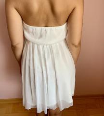 Zara bela poletna obleka