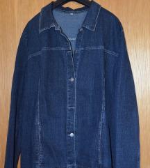 Jeans jakna in brezrokavnik