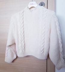 Rebrast topel pleten pulover