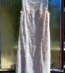 Krem bela obleka