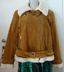 usnjena jakna Zara, št. XXL