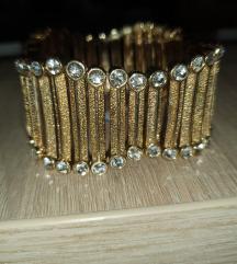 Zlata zapestnica-nastavljiva