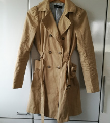 ZARA camel trench coat