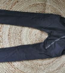 temno rjave baggy hlače S/M