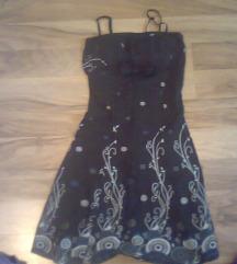 Črna poletna oblekica