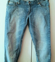 Ripped distressed jeans kavbojke MOTO S