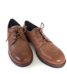 Novi usnjeni Bata nizki čevlji, 40 št.