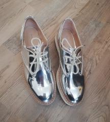 Oxford čevlji z platformo