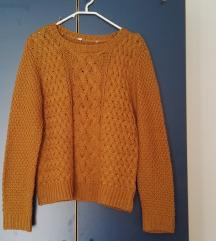 Rumen zimski pulover