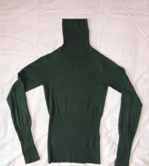 Puli pulover zelen XS