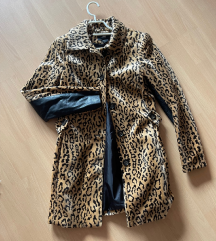 H&M plašček z leopardjim vzorcem