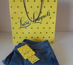 ZNIŽ.64€!!! Luisa Spagnoli jeans, NOVO, PC 179€