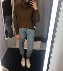 H&M rjav pulover