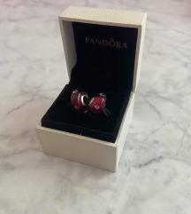 Pandora | Česnjevo srce iz Muranskega stekla