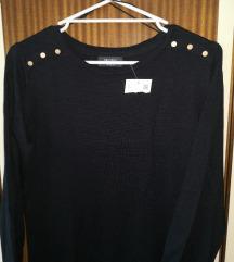 Črna oblekica/tunika C&A z etiketo S/