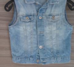 Jeans brezrokavnik