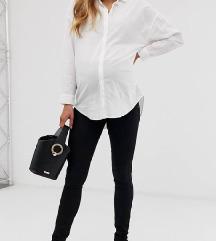 Mamalicious črne dolge hlače