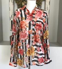 Zara NOVA rožnata bluza