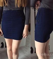 NOVO modro krilo (videz jeans-a)