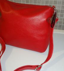 Mass bordo rdeča torbica