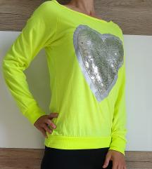 Neon svetleča majica XS/S