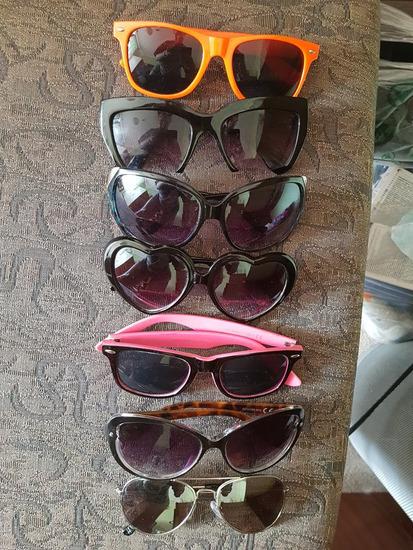 7 parov očal