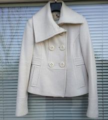 ZARA št. 36 / 38 ( S ) volnen plašč / jakna