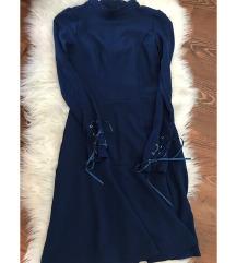 Modra Orsay obleka!