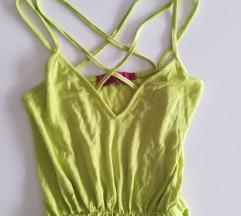 Nov zelen poletni jersey pajac