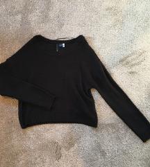 H&M črn pulover