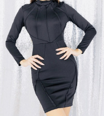 Crna obleka z etiketo