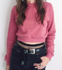 Roza pulover