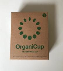 OrganiCup NOVA NERABLJENA menstrualna skodelica