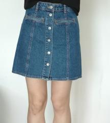 ZNIŽANO Jeans krilo