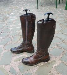 št. 37 pravo usnje škornji Italija