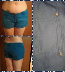 Kraljevsko modre jeans hlače
