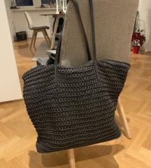 pletena torba za na plažo