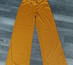 Zara rebraste široke hlače