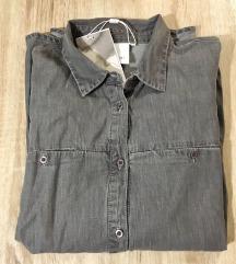 Siva casual srajca