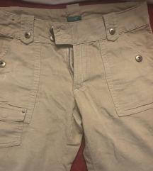 Benetton žametne hlače