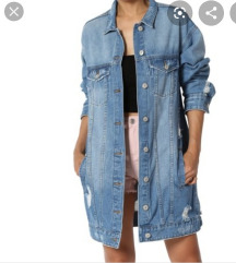 Jeans oversize jacket