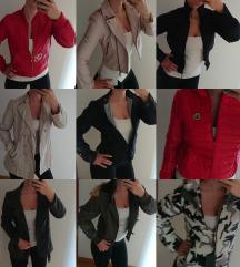 Bunde, plašči, jakne in suknjiči