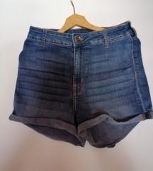 Kratke High waist hlače H&M