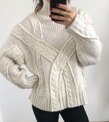Zara knit pulover bel