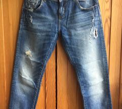 Zara boyfriend crop jeans XS/S
